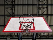 Piano di sostegno di pallacanestro fotografia stock