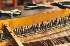 Piano disassemble Royalty Free Stock Images