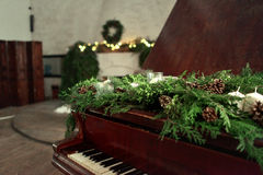 Piano do Natal Foto de Stock Royalty Free