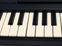 Piano do teclado. Foto de Stock