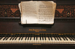 piano dos anos 30 Fotografia de Stock Royalty Free