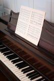 Piano dritto Immagini Stock