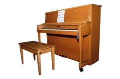 Piano droit Photographie stock