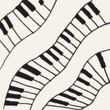 Piano - ejemplo del vector Imágenes de archivo libres de regalías