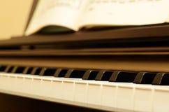 Piano elétrico imagem de stock