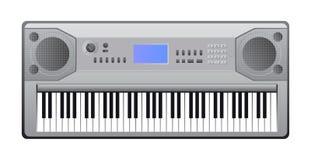 Piano elettrico Fotografia Stock Libera da Diritti