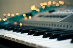 Piano en vonken Stock Afbeelding