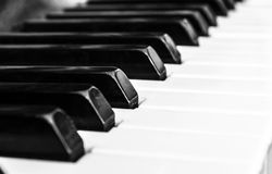 Piano et claviers Photos stock
