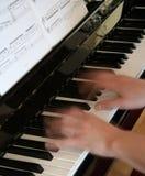 Piano et musique Photographie stock libre de droits