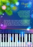 Piano för nytt år Royaltyfri Foto