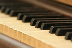piano för tangentbordtangenter Fotografering för Bildbyråer