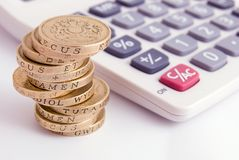 Piano finanziario fotografie stock