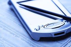 Piano finanziario immagine stock