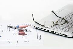 Piano finanziario Immagine Stock Libera da Diritti