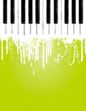 Piano flow Stock Image