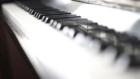 Piano. stock footage