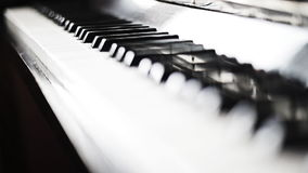 Piano. stock video footage