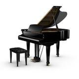 Piano grande Imagem de Stock Royalty Free