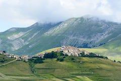 Piano Grande di Castelluccio (意大利) 免版税图库摄影