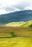 Piano Grande di Castelluccio (Italie) Photos stock