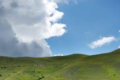 Piano Grande di Castelluccio (Italie) Photographie stock libre de droits