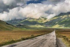 Piano Grande di Castelluccio Italie Images libres de droits