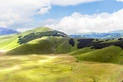 Piano Grande di Castelluccio (Italien) Lizenzfreies Stockfoto