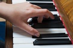 Piano Hand Stock Photos