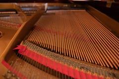 Piano harp royalty free stock image