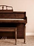Piano in Home stock photos