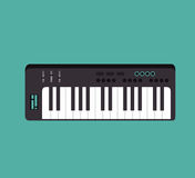 piano instrument isolated icon Stock Photo