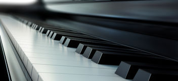 Piano instrument musical Royalty Free Stock Photography
