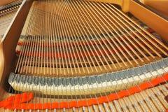 Piano interior details Stock Photo