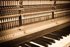 Piano interiors Stock Image