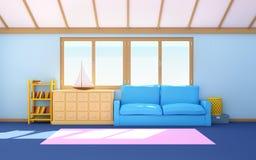 Piano interno della casa marina Immagini Stock