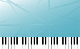 Piano key and Abstract Space for Music idea Background Royalty Free Stock Photography