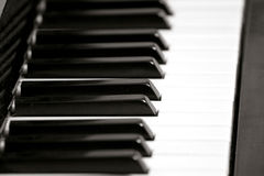 Piano Key Board Stock Images