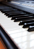 Piano key Stock Images