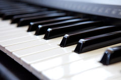 Piano key Stock Photography
