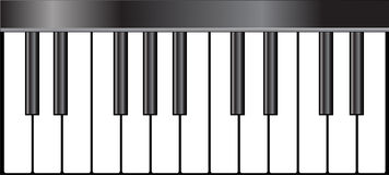 Piano Key Stock Image