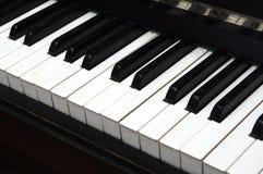 Piano Key close up shot Royalty Free Stock Photography