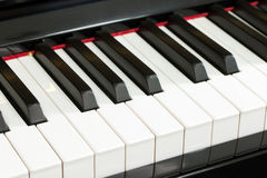 Piano key Stock Image
