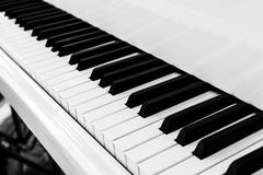 Piano key Royalty Free Stock Photos