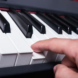 Piano key Royalty Free Stock Photography