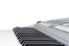 Piano key isolated Royalty Free Stock Photos