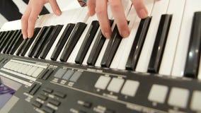 Piano Key stock video