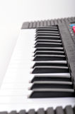Piano keyboard. On isolated background Stock Images