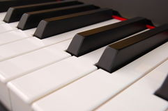 Piano keyboard Stock Photography