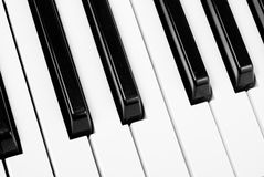 Piano keyboard Royalty Free Stock Image