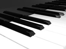 Piano keyboard Royalty Free Stock Photo